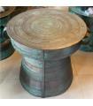Traditional MOKO drum. Copper decor 01